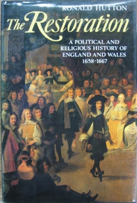 Image for The Restoration : a political and religious history of England and Wales 1658-1667.