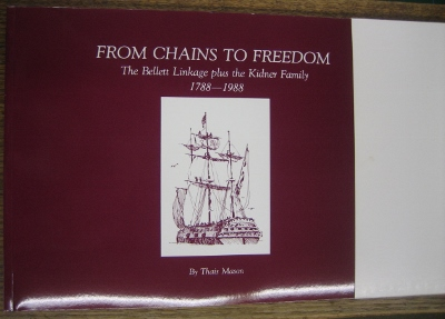Image for From Chains to Freedom. Volume 2: the Bellett linkage plus the Kidner family, 1788-1988.