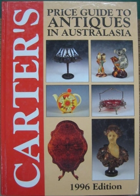 Image for Carter's Price Guide to Antiques in Australia. 1996 Edition.