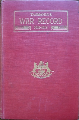 Image for Tasmania's War Record 1914-1918.