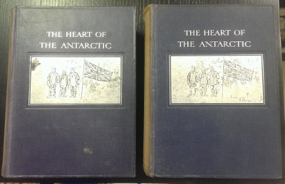 Image for The Heart of the Antarctic : being the story of the British Antarctic Expedition 1907-1909.  With and Introduction by Hugh Robert Mill, D.Sc.  An Account of the First Journey to the South Magnetic Pole by Professor T. Edgeworth David, F.R.S.