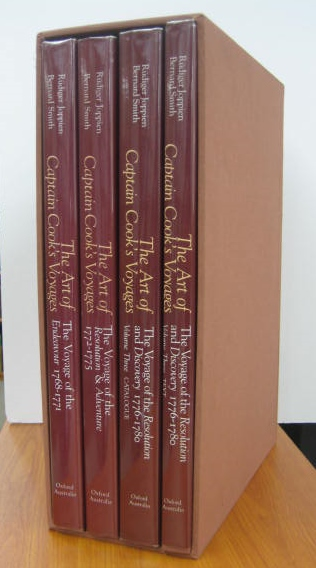 Image for The Art of Captain Cook's Voyages [3 volumes in 4 parts, with the slip-case]