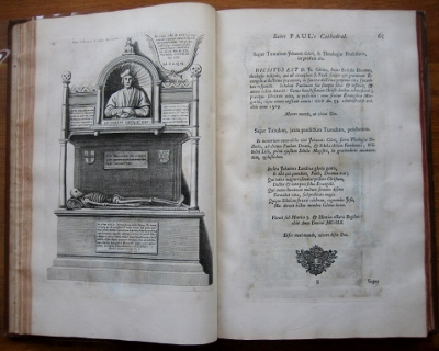 Image for The History of St Paul's Cathedral in London from its foundation. Extracted out of original charters, records, leiger-books, and the manuscripts.  Beautified with sundry prospects of the Old Fabrick, which was destroyed by the fire of that city, 1666.