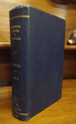 Image for Historical Records of Australia [III/2]. Series III: Despatches and papers relating to the settlement of the states. Volume II: Tasmania, July 1812 - December 1819.