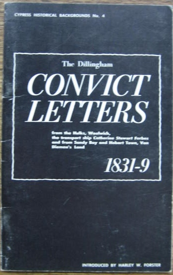 Image for The Dillingham Convict Letters.
