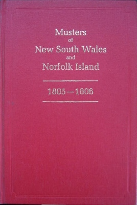 Image for Musters of New South Wales and Norfolk Island 1805-1806.