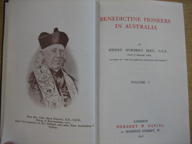 Image for Benedictine Pioneers in Australia.