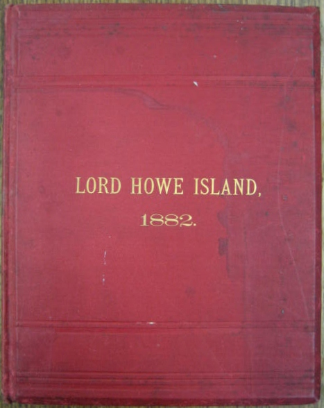 Image for Report on the Present State and Prospects of Lord Howe Island.