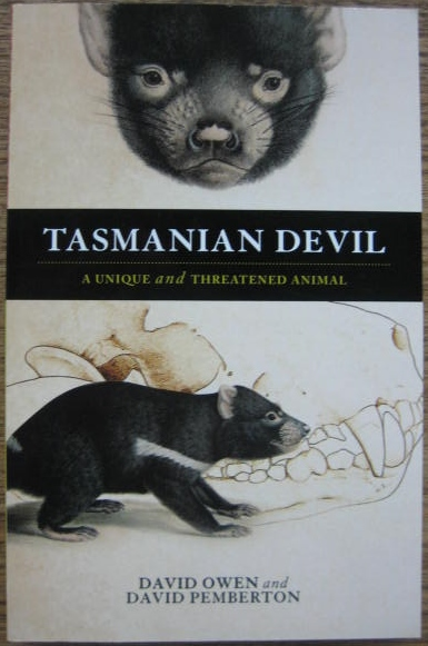 Image for Tasmanian Devil : a unique and threatened animal.