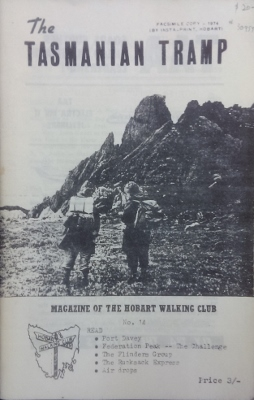 Image for The Tasmanian Tramp, no 14. Magazine of the Hobart Walking Club.