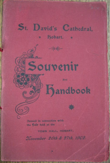 Image for St. David's Cathedral, Hobart : souvenir and handbook.
