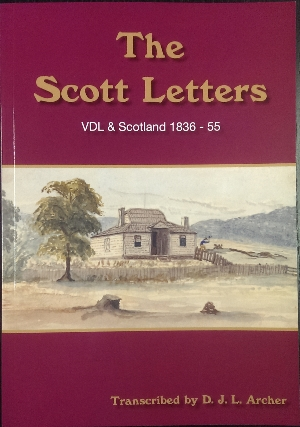 Image for The Scott Letters : VDL & Scotland 1836-55.