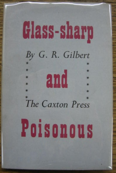 Image for Glass-sharp and Poisonous.