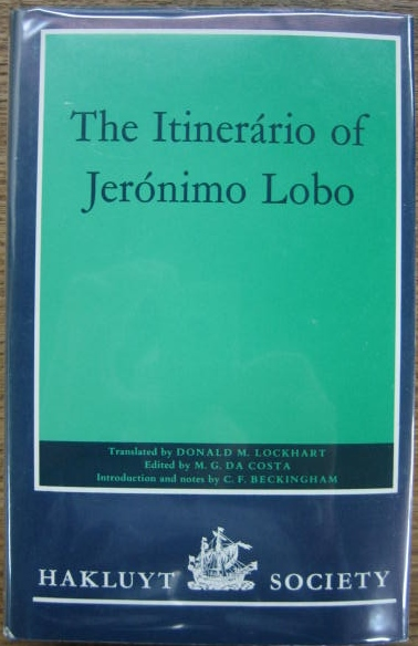 Image for The Itinerario of Jeronimo Lobo.