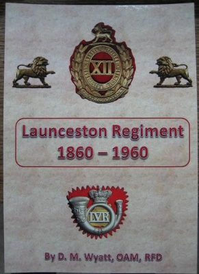 Image for Launceston Regiment 1860-1960.