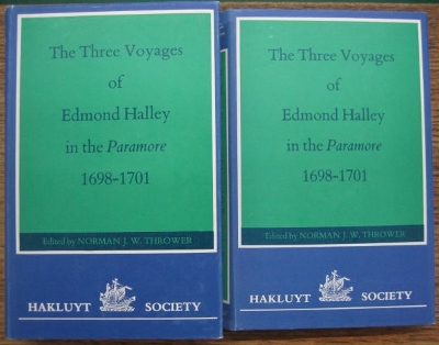 Image for The Three Voyages of Edmond Halley in the Parramore 1698-1701.