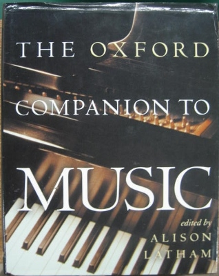 Image for The Oxford Companion to Music.