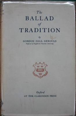 Image for The Ballad of Tradition.