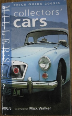 Image for Miller's Price Guide 2005/6. Collectors Cars.