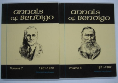 Image for Annals of Bendigo : Volumes 7 (1951-70) & 8 (1971-87).