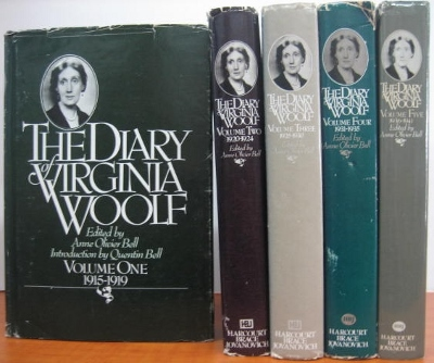 Image for The Diary of Virginia Woolf, 1915-41, in five volumes.