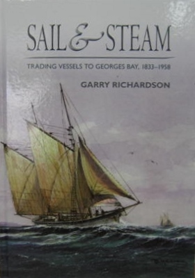 Image for Sail & Steam : trading vessels to George's Bay 1833-1958.