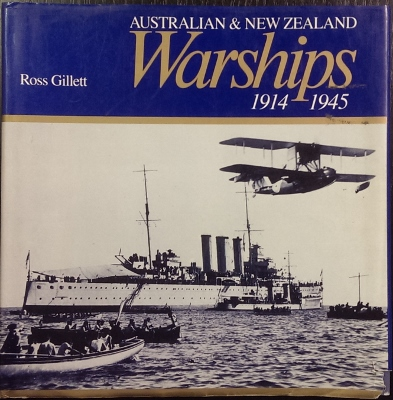 Image for Australian & New Zealand Warships 1914-1945.