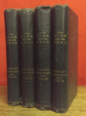 Image for The Ring and the Book : in four volumes.