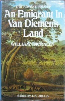 Image for The Adventures of an Emigrant in Van Diemen's Land.