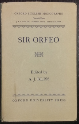 Image for Sir Orfeo.
