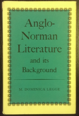 Image for Anglo-Norman Literature and its background.