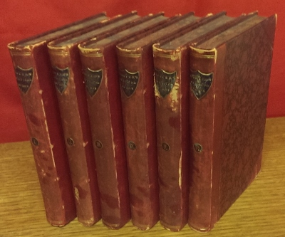 Image for The Poetical Works of Geoffrey Chaucer [six volumes].