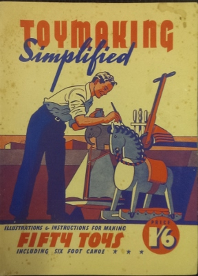 Image for Toymaking Simplified : a handbook for amateur toymakers.