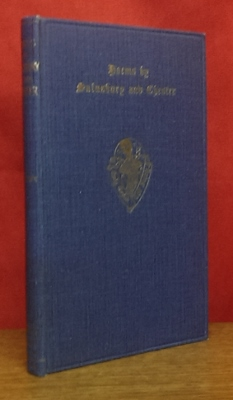 Image for Poems by Sir John Salusbury and Robert Chester.