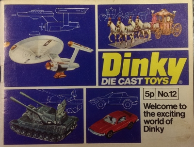 Image for Dinky Toys No 12 [with Star Trek and Thunderbirds items].