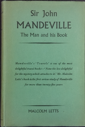 Image for Sir John Mandeville : the man and his book.