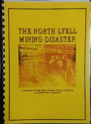 Image for The North Lyell Mining Disaster.