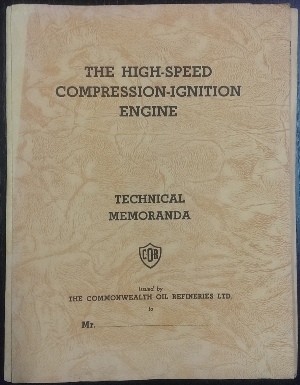 Image for The High-speed Compression-ignition Engine : technical memoranda.