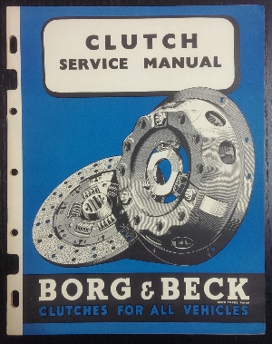Image for Borg & Beck Clutch Service Manual.