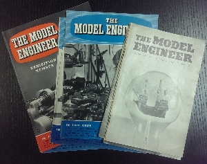 Image for The Model Engineer - 9 issues from 1949 & 1954
