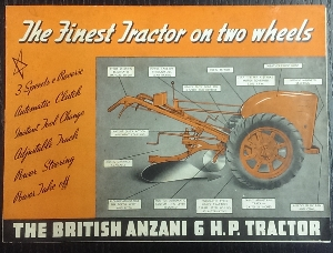 Image for The British Anzani 6 H.P. Tractor.