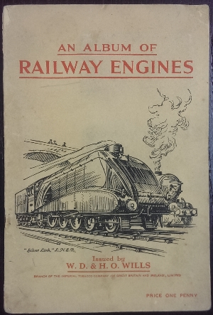 Image for An Album of Railway Engines.