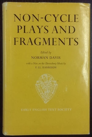 Image for Non-Cycle Plays and Fragments.