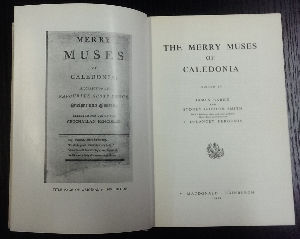 Image for The Merry Muses of Caledonia.