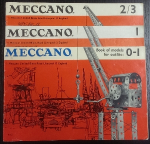 Image for Meccano Book of Models : 0/1, 1 & 2/3.