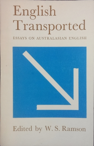 Image for English Transported : essays on Australian English.