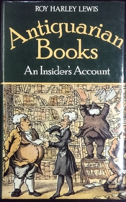 Image for Antiquarian Books : an insider's account.