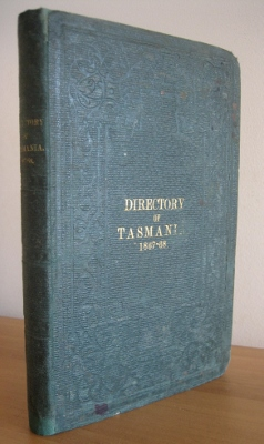 Image for MacPhail's National Directory of Tasmania for 1867-68.  Including a correct and complete map of the colony: and The Tasmanian Yearly Advertiser.