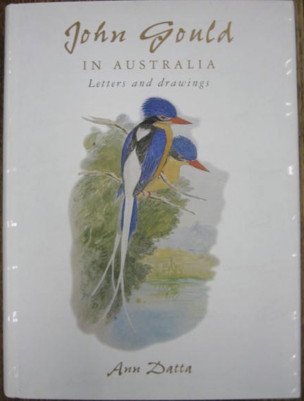 Image for John Gould in Australia : letters and drawings.