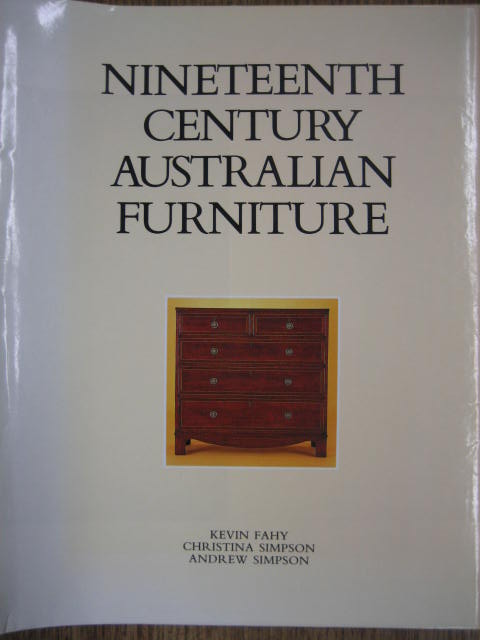 Image for Nineteenth Century Australian Furniture.